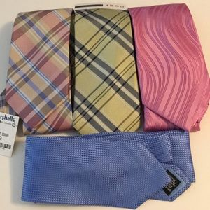 NWT Neckties SET OF 4